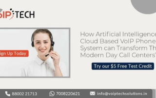 AI In Cloud Based VoIP Phone System