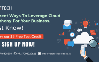 Different Ways To Leverage Cloud Telephony For Your Business. Must Know!