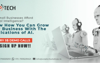 Can Small Businesses Afford Artificial Intelligence? Know How You Can Grow Your Business With The Applications of AI , VoIP tech solutions, vici dialer, virtual number, Voip Providers, voip services in india, best sip provider, business voip providers, VoIP Phone Numbers, voip minutes provider, top voip providers, voip minutes, International VoIP Provider