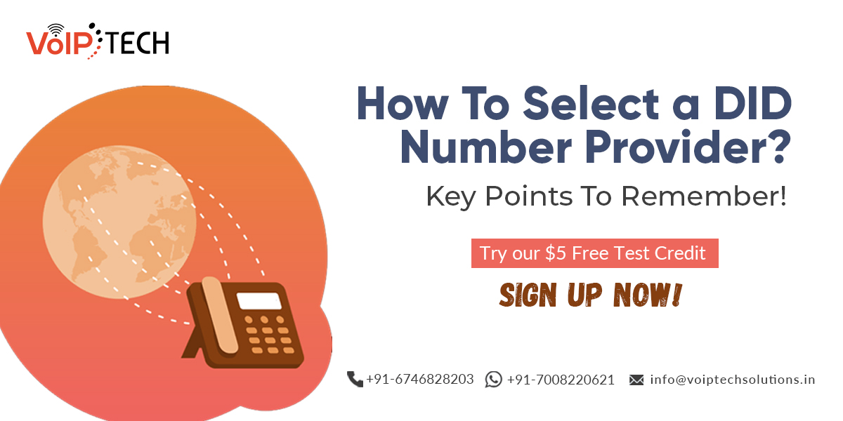How To Select a DID Number Provider? Key Points To Remember! , VoIP tech solutions, vici dialer, virtual number, Voip Providers, voip services in india, best sip provider, business voip providers, VoIP Phone Numbers, voip minutes provider, top voip providers, voip minutes, International VoIP Provider
