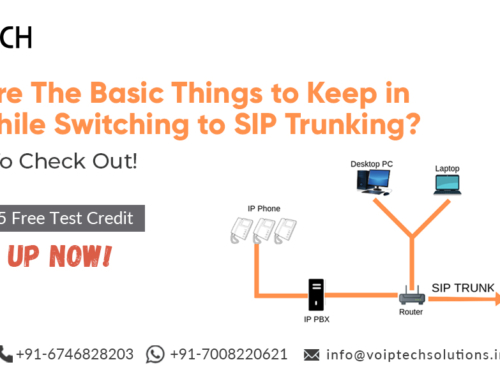 What Are The Basic Things to Keep in Mind While Switching to SIP Trunking? 4 Things To Check Out!