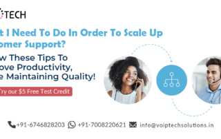 What I Need To Do In Order To Scale Up Customer Support? Follow These Tips To Improve Productivity, While Maintaining Quality!, VoIP tech solutions, vici dialer, virtual number, Voip Providers, voip services in india, best sip provider, business voip providers, VoIP Phone Numbers, voip minutes provider, top voip providers, voip minutes, International VoIP Provider