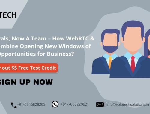 From Rivals, Now A Team – How WebRTC solution & VoIP Combine Opening New Windows of Opportunities for Business?