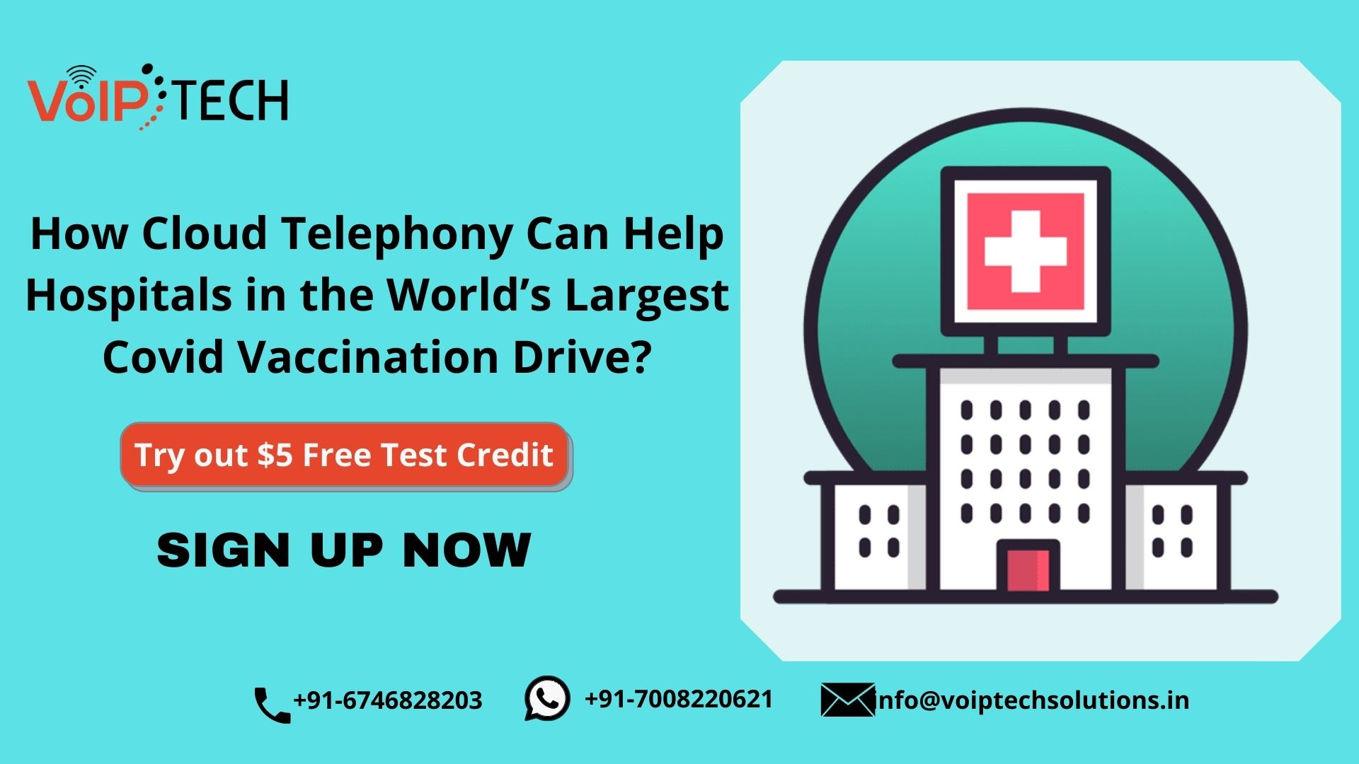 How Cloud Telephony Can Help Hospitals in the World's Largest Covid Vaccination Drive?, Cloud Telephony, VoIP tech solutions, vici dialer, virtual number, Voip Providers, voip services in india, best sip provider, business voip providers, VoIP Phone Numbers, voip minutes provider, top voip providers, voip minutes, International VoIP Provider
