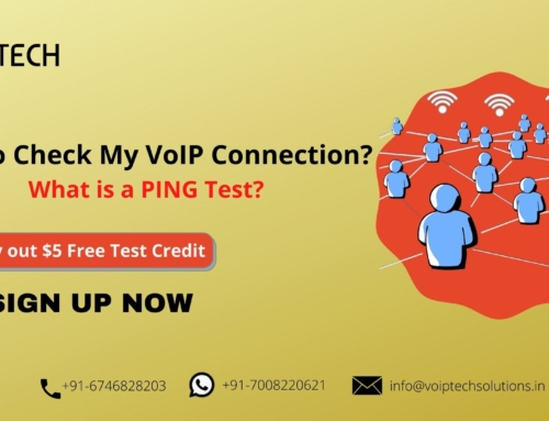 How to Check My VoIP Connection? What is a PING Test?