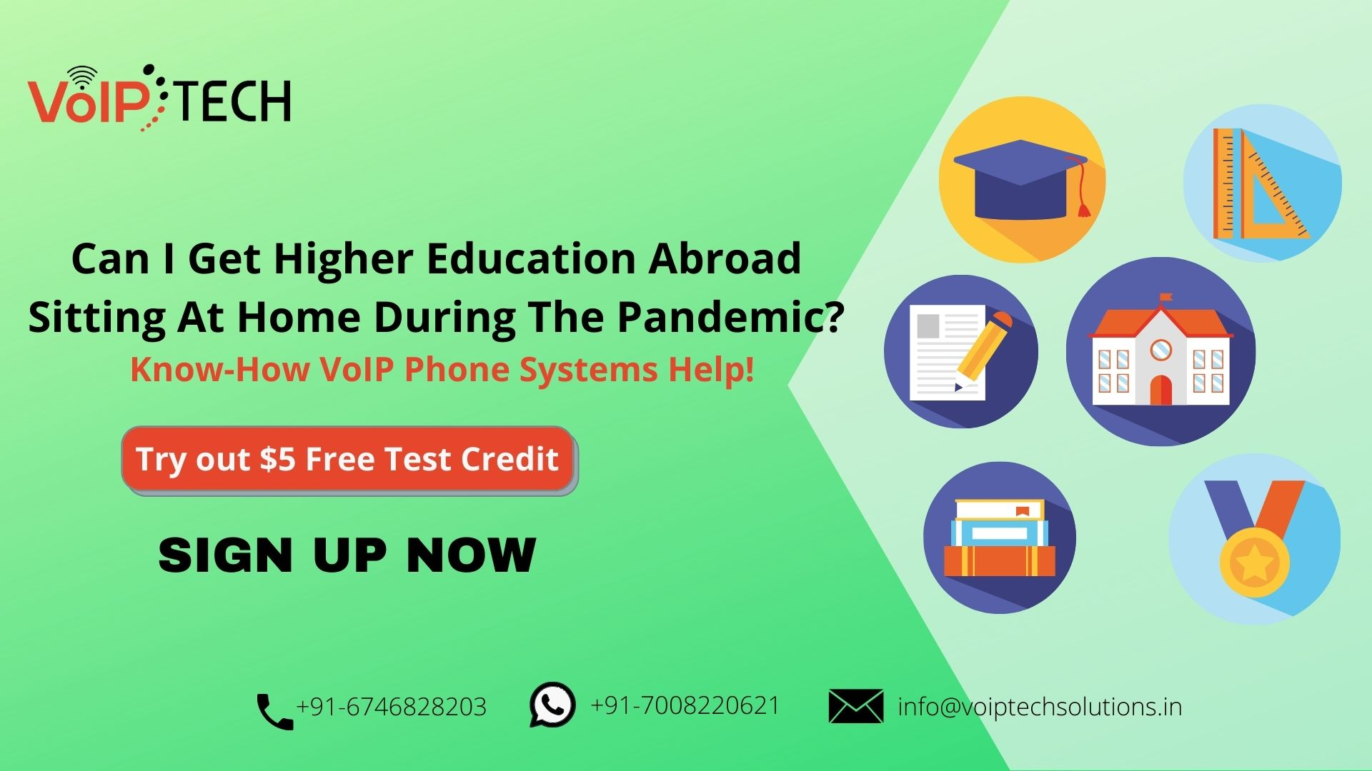 VoIP Phone Systems, Can I Get Higher Education Abroad Sitting At Home During The Pandemic? Know-How VoIP Phone Systems Help!, VoIP tech solutions, vici dialer, virtual number, Voip Providers, voip services in india, best sip provider, business voip providers, VoIP Phone Numbers, voip minutes provider, top voip providers, voip minutes, International VoIP Provider