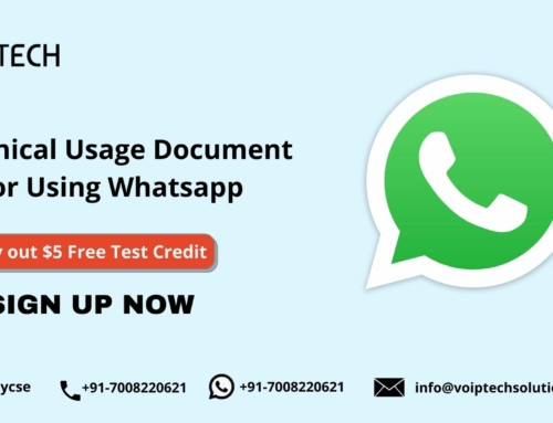 Technical Usage Document for Using Whatsapp