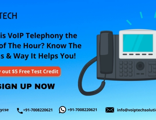 Why is VoIP Telephony the Need of The Hour? Know The Areas & Way It Helps You!