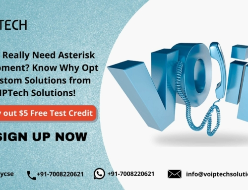 Do You Really Need Asterisk Development? Know Why Opt for Custom Solutions from VoIPTech Solutions!