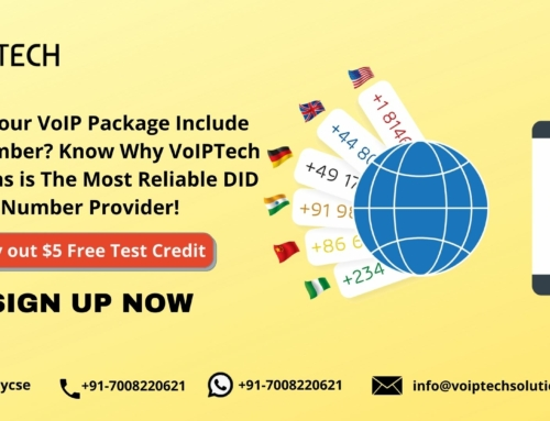 Does Your VoIP Package Include DID Number? Know Why VoIPTech Solutions is The Most Reliable DID Number Provider!